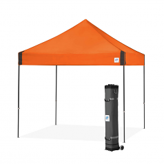 EZ Up Vantage 10' x 10' Straight Leg Commercial Pop Up Canopy