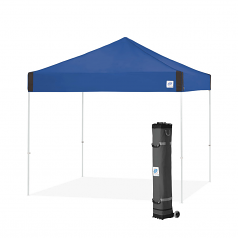 EZ Up Pyramid 10' x 10' Straight Leg Pop Up Canopy