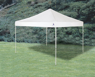 ... EZ Up Envoy 10u0027 x 10u0027 Straight Leg Pop Up Canopy White : pull up canopy - memphite.com