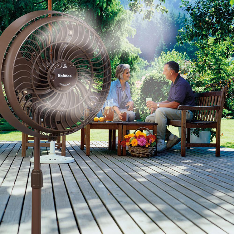 Good ... Holmes 16u201d Outdoor Misting Fan