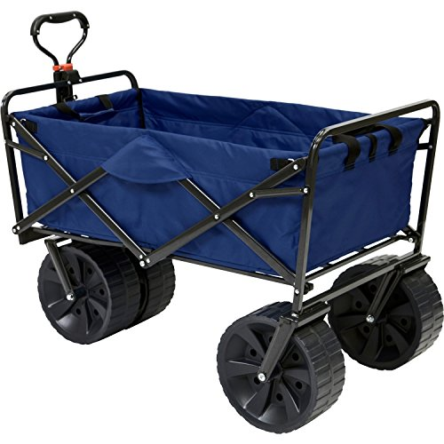 Mac Sports Folding All Terrain Beach Wagon